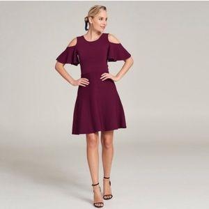 Eliza J Cold Shoulder Dress